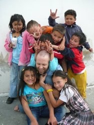 Clayton becomes a jungle gym for kids in Bogota, Colombia